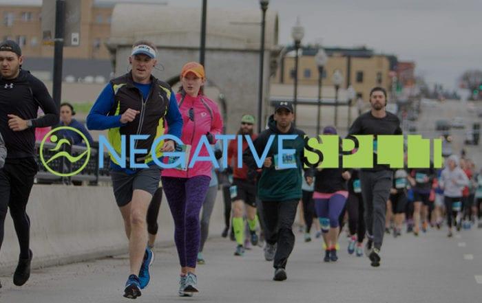 find a race negative split